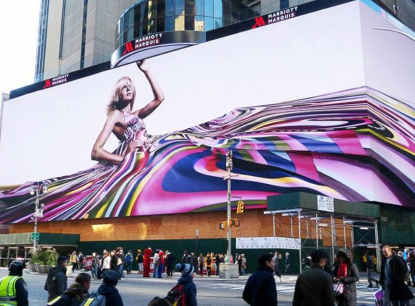 digital billboard integration