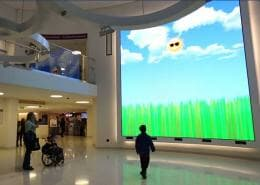experiential video wall