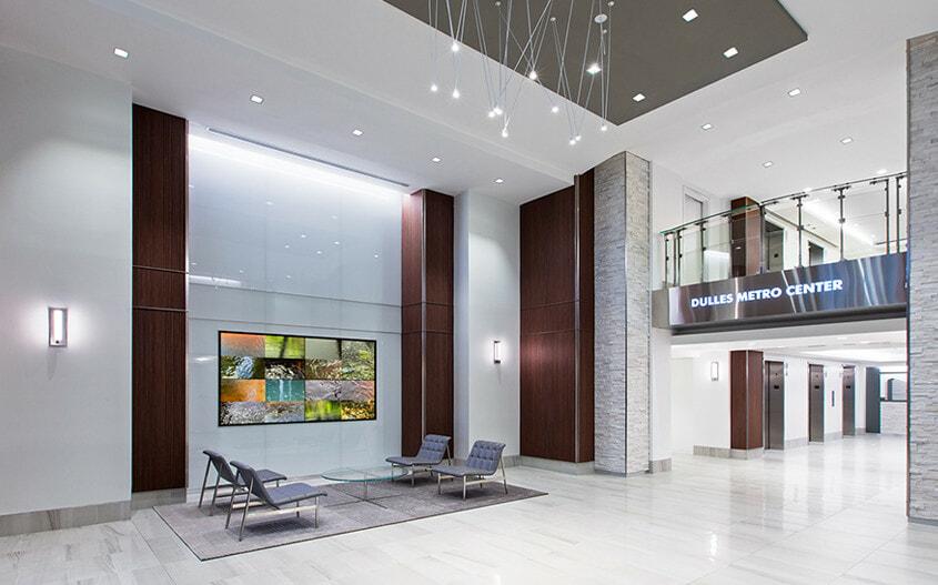 Lobby Video Wall