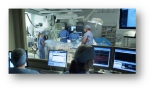 Interventional procedure suite