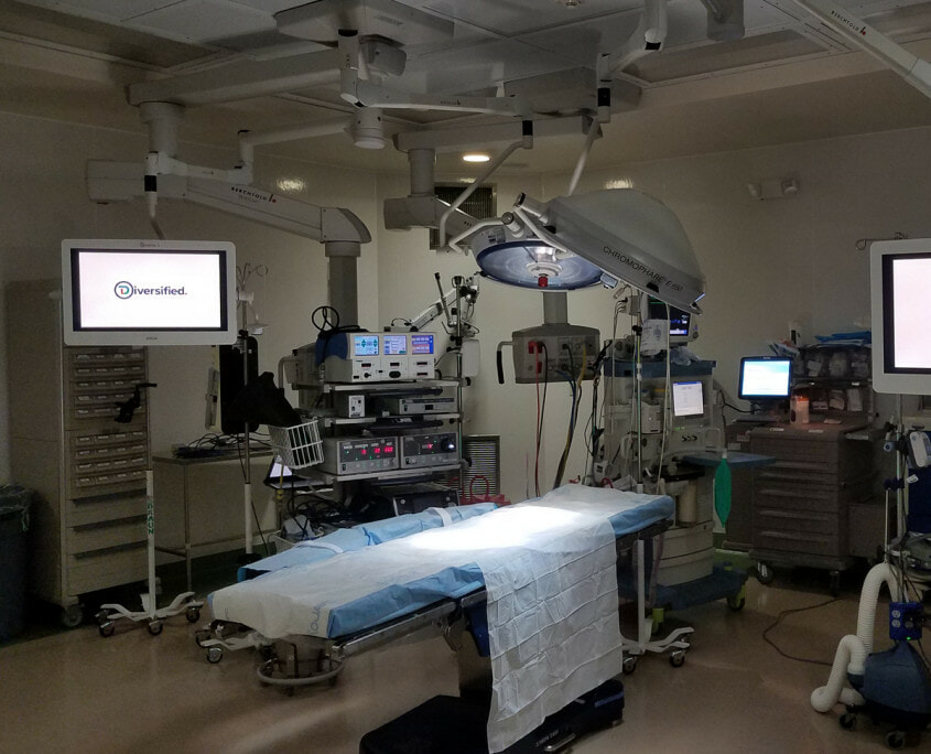 surgical suite integration St. Peter's Hospital