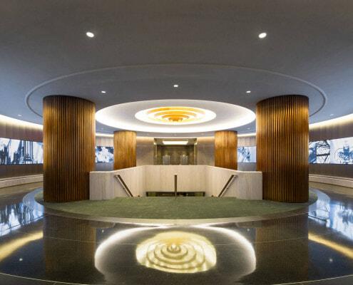 Lobby Digital Displays