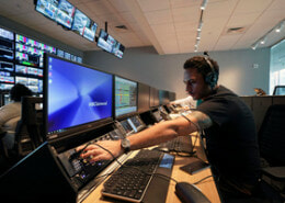 technical design and integration of control rooms