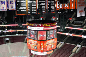 Wells Fargo Center New Arena Sound System