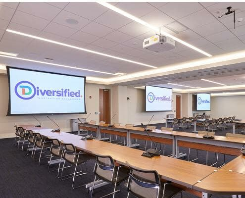 divisible room collaboration and presentation systems