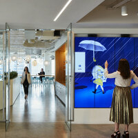 Morton Salt Video Wall