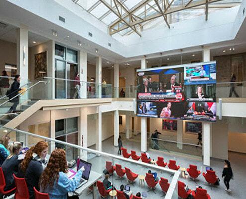 Indiana University LED Video Wall
