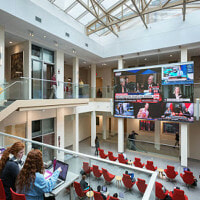 Indiana University LED Video Wall