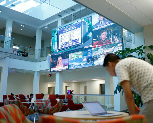 Indiana University Digital Signage