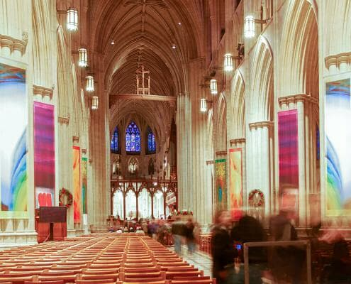 Washington National Cathedral Video System