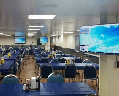 USNS Mercy Advanced AV Systems