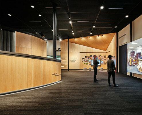 Immersive Exhibit - 4K LED video walls
