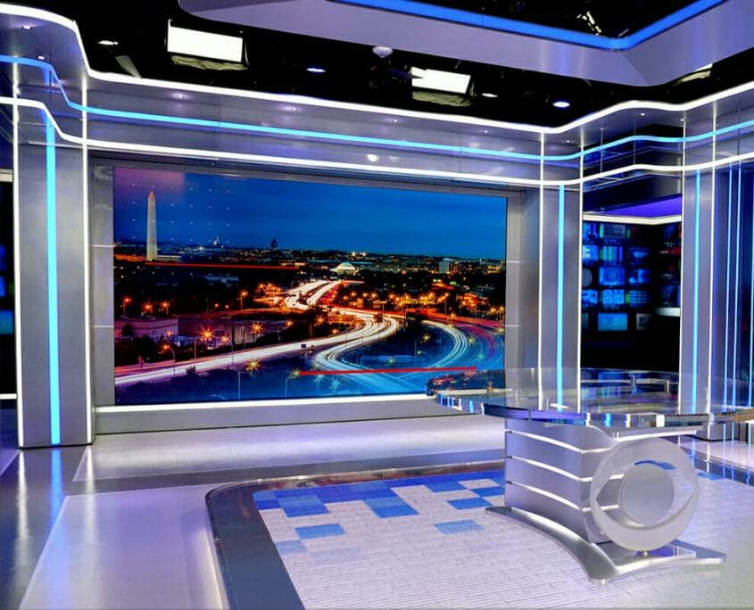 CBS News Studio Video Wall