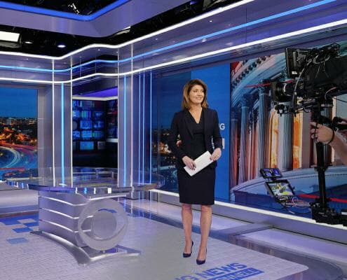 CBS News Showpiece Studio
