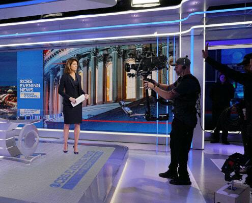 CBS News Washington Bureau Tech Updgrades