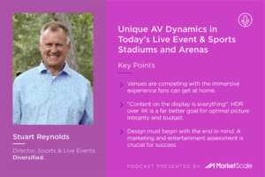 AV Dynamics in Live Events and Sports Stadiums