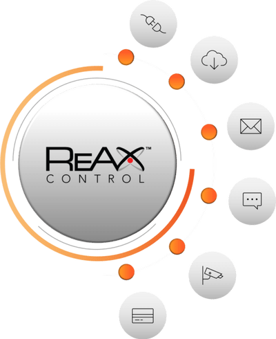 ReAx control system for VitalSign body temperature check kiosk