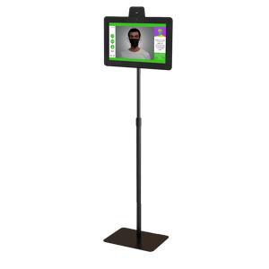 Body Temperature Check Kiosk Pole Stand