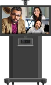 Crestron flex R portable zoom room system for digital workspaces