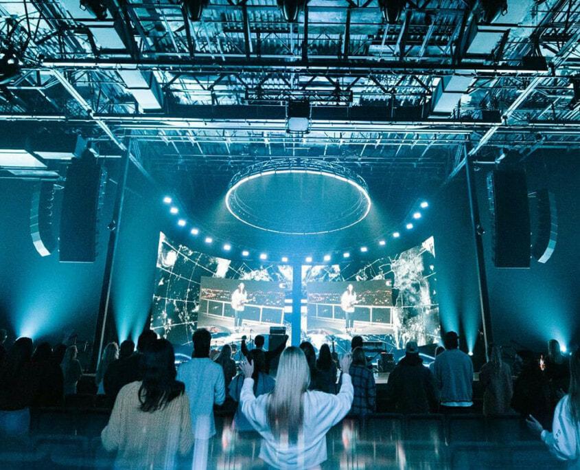 AV Installation Worship Experience