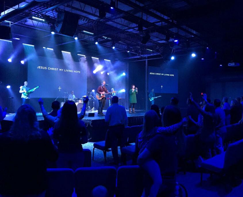 satellite church technology solutions
