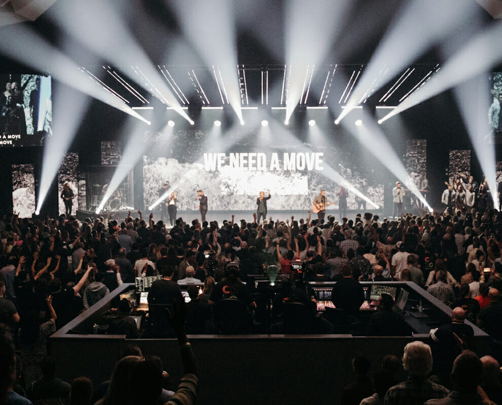 LED Upgrade Creates Intimate Worship Experience