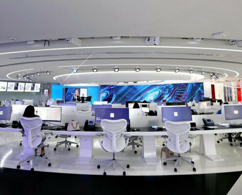 Al Arabiya Broadcast Studio