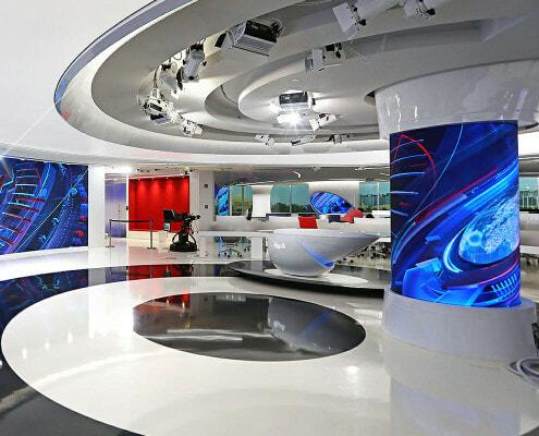 Al Arabiya Broadcast Studio